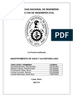 1ra PC Abastecimiento de Agua y Alcantarillado 1