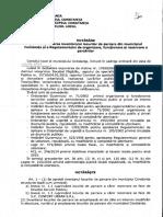 Regulamentul Privind Autorizarea Parcarilor Rezidentiale Hcl 30 Din 2015