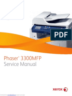 Xerox Phaser 3300 Service Manual
