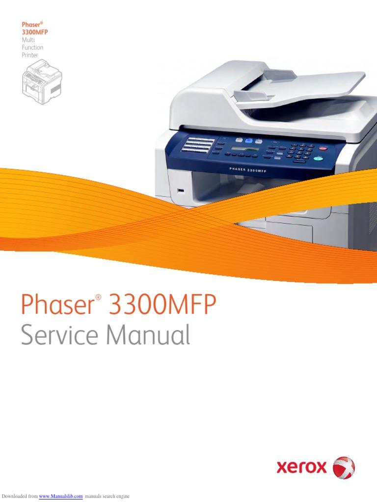 xerox phaser 3300 manual sample user manual u2022 rh userguideme today Phaser 3600 Paper Jam xerox phaser 3500 service manual
