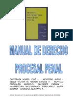 Manual de Derecho Procesal Penal - Cafferata Nores y Otros