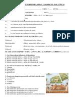 Evaluación de Historia-Aztecas