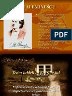 Iubirea La Eminescu