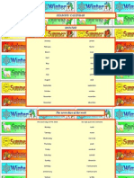 Seasons Calendar PDF