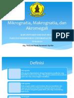 Mikrognatia Makrognatia Dan Akromegali Kuliah