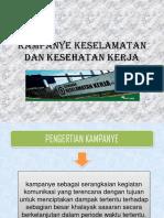 Kel.1 Kampanye k3