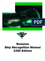 FASA - Romulan Ship Recognition Manual 2385 (1)