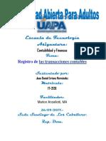 Unidad III Contabilidad y Finanzas Juan Daniel L.H