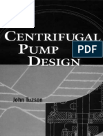 Centrifugal Pump Design Tuzson 2000