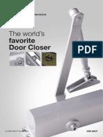 Yale Door Closers Catalog