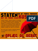Plakat for møde om SIO - LS-Aalborg