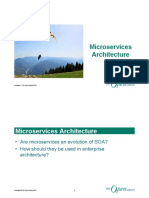 Microservices Architecture Webinar
