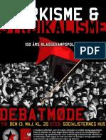Plakat for Black Flame møde og læsegruppe - LS-Aalborg