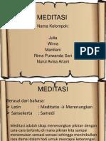 ppt meditasi