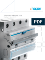 Hager FI-LS Tetrapolaire 6kA 10kA FR