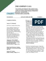 January 2006 Limpkin Call Oklawaha Valley Audubon Society