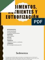 Sedimentos, Nutrientes y Eutrofización