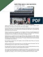 BLOQUE 1 Articulo Tren Bala Japonés Deja Paso a Sus Sucesores
