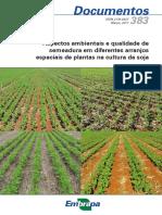 diferentes arranjos espaciais de plantas na cultura da soja