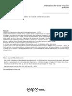 Letteratura e cultura latine in Italia Settentrionale
