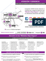 (Programa) Módulos Viaja Segura INMUJERES CDMX.