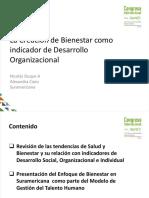 La Creación Del Bienestar Como Indicador de Desarrollo. Nicolas Duque. Colombia