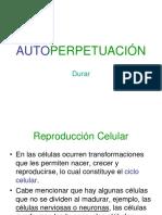 6 Autoperpetuación y Reproducción