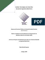 Diseño Instalacion de Proced_medidores Electricos_estado Solido