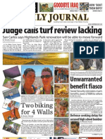 08-19-10 issue of the Daily Journal
