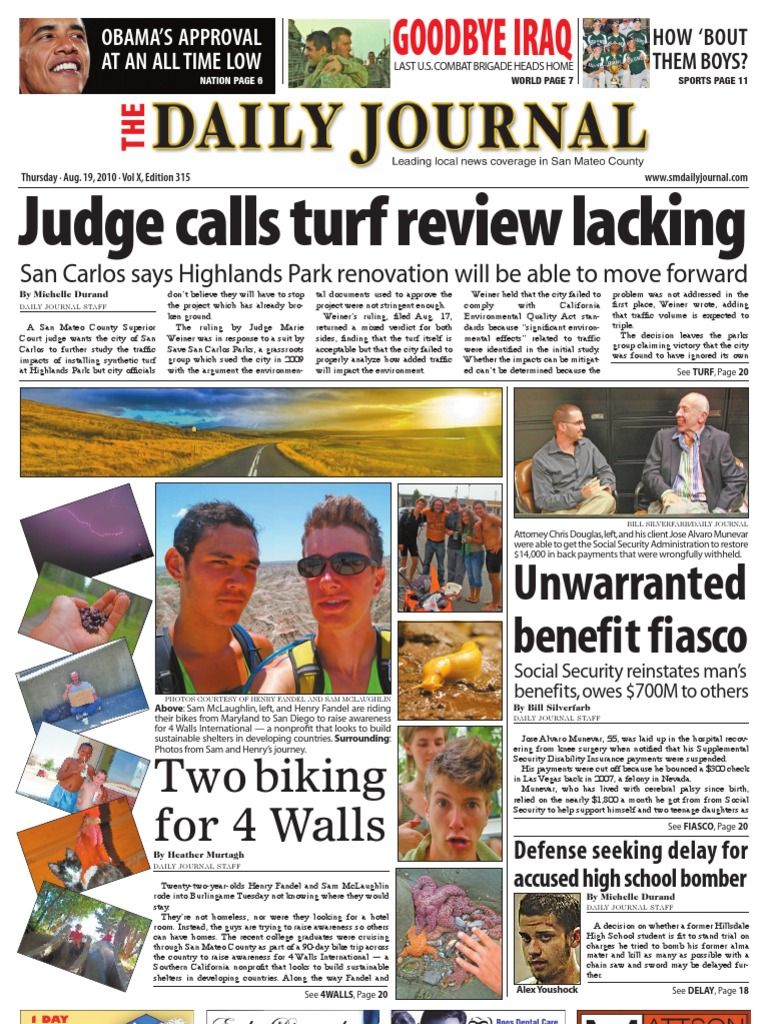 08 19 10 issue of the daily journal caltrain california 08 19 10 issue of the daily journal caltrain california proposition 8 2008 sciox Choice Image