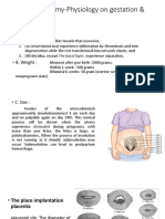 Change Anatomy-Physiology on Gestation & Childbed