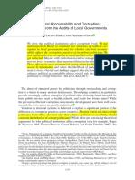 Ferraz Finan 2011 Electoral Accountability and Corruption