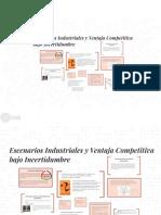 Capitulo 13. Escenarios Industriales y Ventaja Competitiva Bajo Incertidumbre