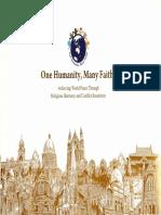One Humanity, Many Faiths
