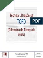 Llog (Técnica Ultrasónica TOFD Difracción de Tiempo de Vuelo)