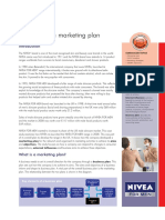 Developing a Marketing Plan - NIVEA