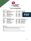 Skyrunning 2018 Calendar