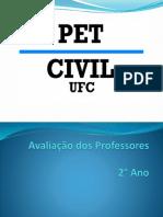 Avaliacao Dos Professores- 2009.1