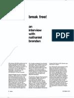 Break Free - Nathaniel Branden