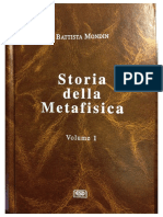 Battista Mondin - Storia Della Metafisica (Vol. 1)