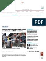 Extrema-direita e Grupos Antirracismo Se Enfrentam Nos EUA; Um Morre - 12-08-2017 - Mundo - Folha de S