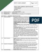 racerschoice msds sheet