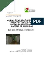 Manual Almacenamiento y Transporte de Frutas y Hortalizas