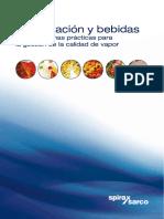 Alimentación y Bebidas Guía de Buenas Prácticas Para La Gestión de La Calidad de Vapor-Catálogos