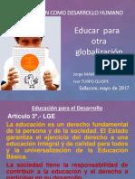Diapositivas de La Charla Informativa