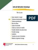 03 Tolerances Dimensionnelles Ajustements (2010)