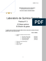 Informe 2 Labo de Quimica