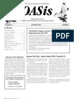 January 2006 OASis Newsletter Orange Audubon Society