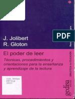 El Poder de Leer - J. Jolibert y R. Gloton