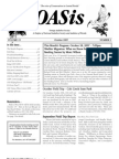 October 2007 OASis Newsletter Orange Audubon Society